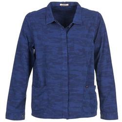 Ruhák Női Kabátok / Blézerek Lee CAMO Kék