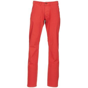 Ruhák Férfi Chino nadrágok / Carrot nadrágok Jack & Jones BOLTON DEAN ORIGINALS Piros