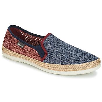 Cipők Férfi Gyékény talpú cipők Bamba By Victoria ANDRE ELASTICOS REJILLA BICO Kék / Piros