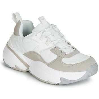 Cipők Női Rövid szárú edzőcipők Victoria AIRE NYLON/SERRAJE PU Fehér