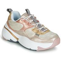 Cipők Női Rövid szárú edzőcipők Victoria AIRE METALICO NACAR Bézs