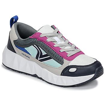 Cipők Női Rövid szárú edzőcipők Victoria ARISTA MULTICOLOR Fehér / Rózsaszín