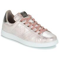 Cipők Női Rövid szárú edzőcipők Victoria TENIS METALIZADO Rózsaszín