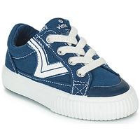 Cipők Gyerek Rövid szárú edzőcipők Victoria TRIBU LONA RETRO Kék