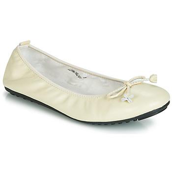 Cipők Női Balerina cipők / babák Mac Douglas ELIANE Ekrü