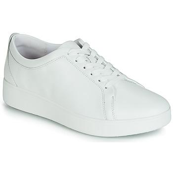 Cipők Női Rövid szárú edzőcipők FitFlop RALLY SNEAKER Fehér