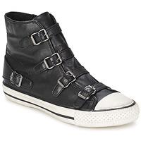 Shoes Női Magas szárú edzőcipők Ash VIRGIN Fekete