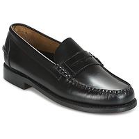 Cipők Férfi Mokkaszínek Sebago CLASSIC Fekete