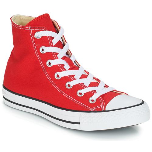Cipők Magas szárú edzőcipők Converse CHUCK TAYLOR ALL STAR CORE HI Piros 3cd7527bf2