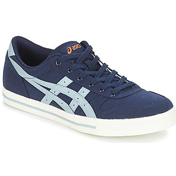 Cipők Rövid szárú edzőcipők Asics AARON CANVAS Kék