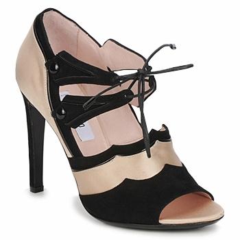 Cipők Női Szandálok / Saruk Moschino MA1601 100-szatén-bőrszínű-cane