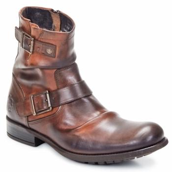 Cipők Férfi Csizmák Base London METAL Cserszínű