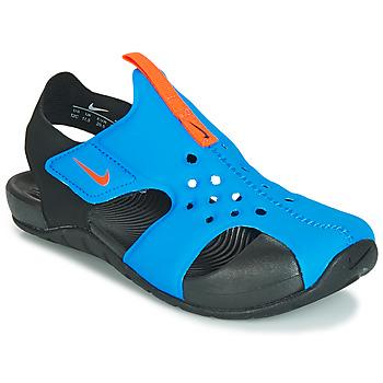 Cipők Gyerek Szandálok / Saruk Nike SUNRAY PROTECT 2 PS Fekete  / Kék