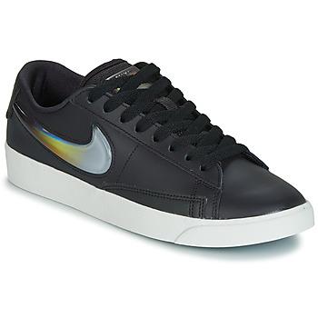 Cipők Női Rövid szárú edzőcipők Nike BLAZER LOW LX W Fekete  / Ezüst